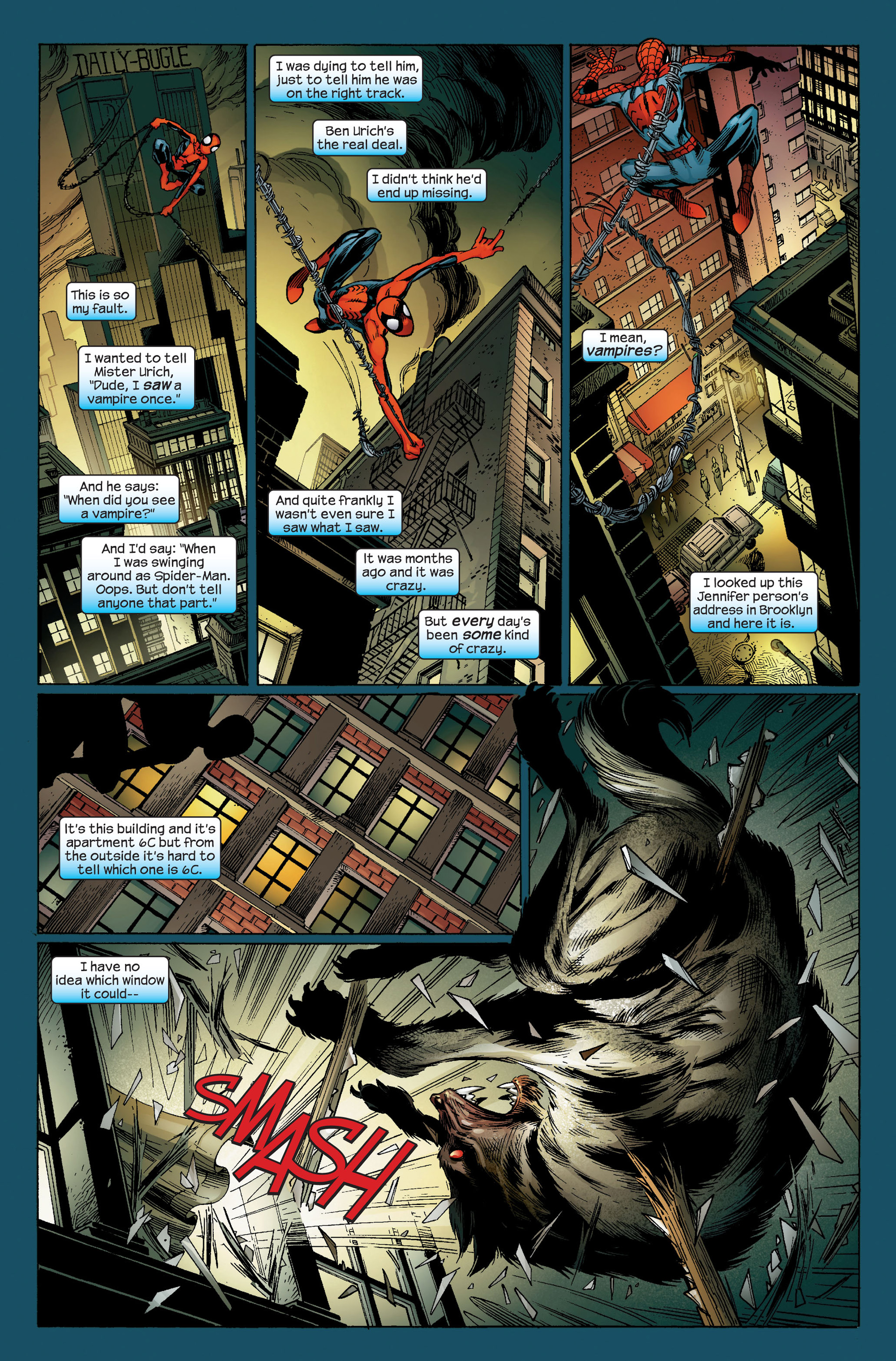 Read online Ultimate Spider-Man (2000) comic -  Issue #95 - 21