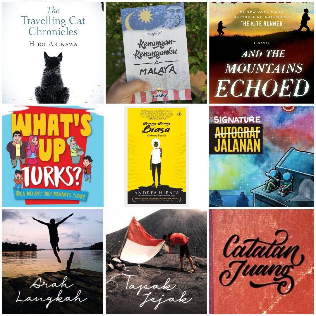 Senarai Best 9 Buku Bacaan Tahun 2019 Untuk Seorang Sharulnizam