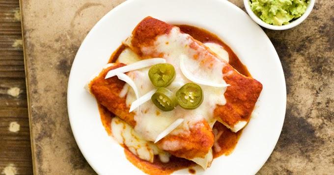 Mexican Cheese Enchiladas
