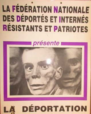Affiche de l'exposition de la FNDIRP