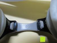 Bügel innen: »Piranha« Schwimmbrille, 100% UV-Schutz + Antibeschlag. Starkes Silikonband + stabile Box. TOP-MARKEN-QUALITÄT! Große Farbauswahl.