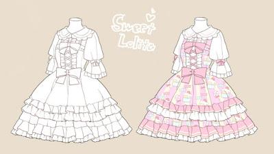 Referensi Lolita Fashion Unik dan Cantik