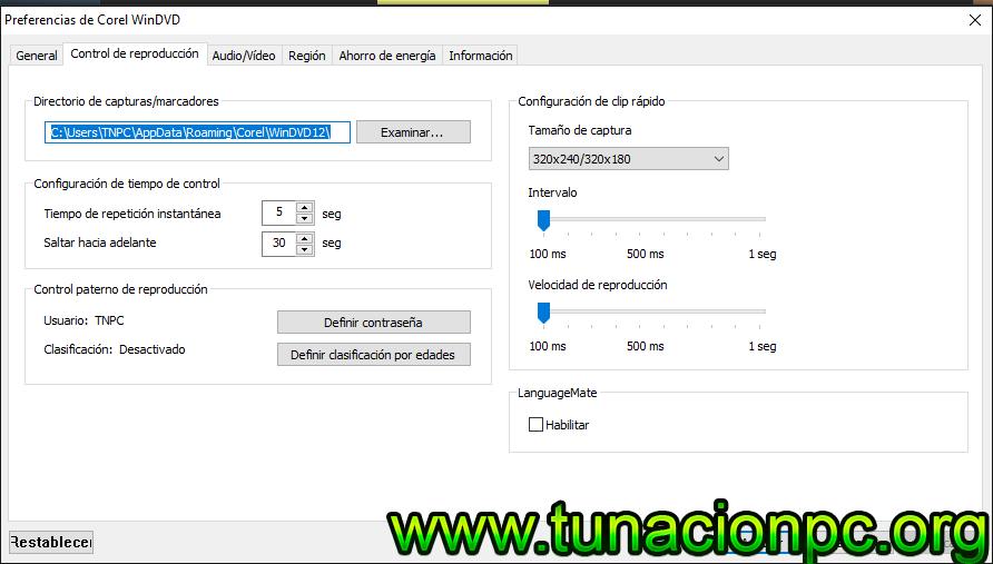 Corel WinDVD Pro  Full Español
