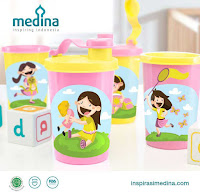 Dusdusan Adia Girls Tumbler Set (Set of 4) ANDHIMIND