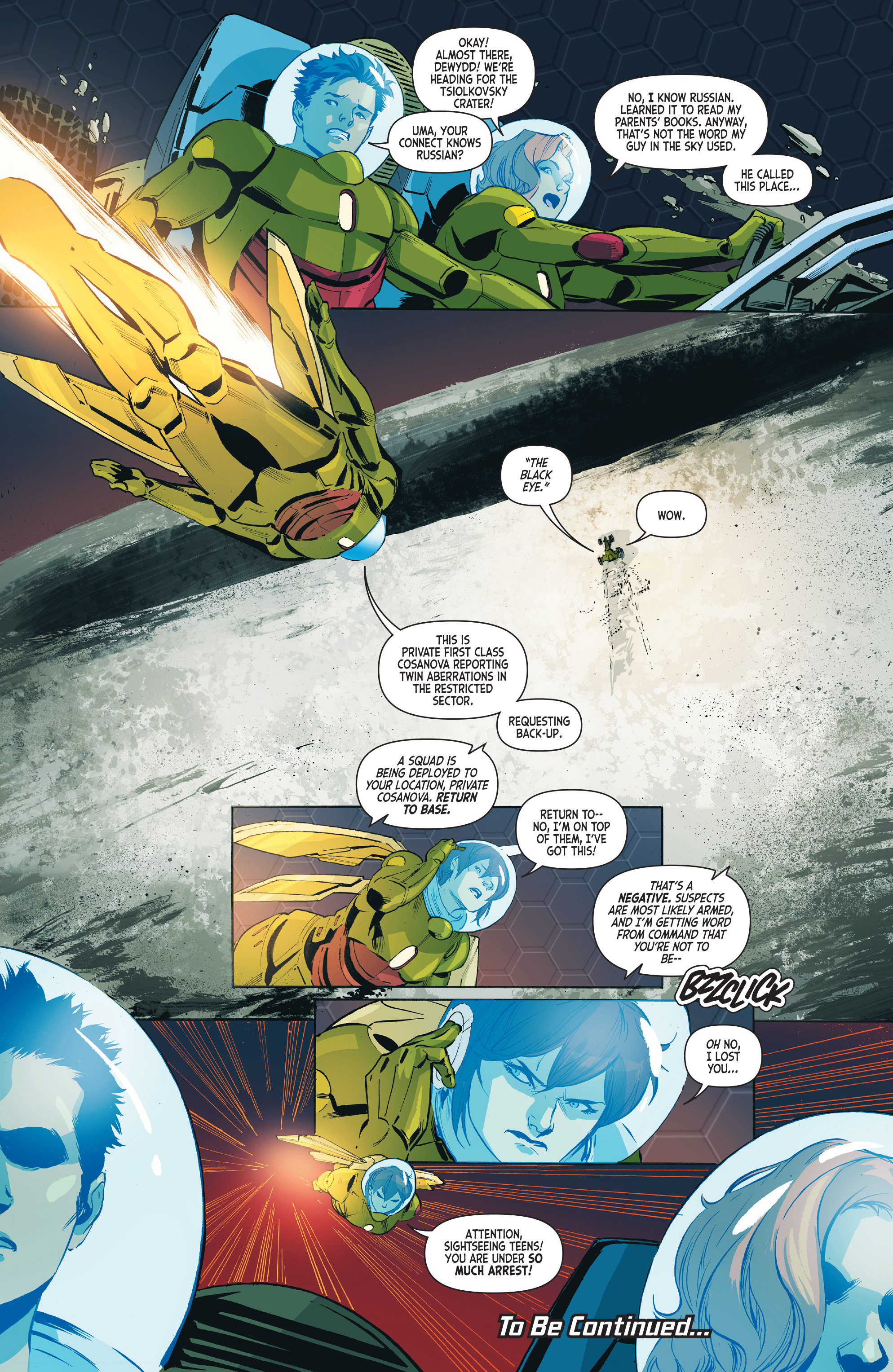 Read online Mighty Morphin Power Rangers comic -  Issue #1 - 31