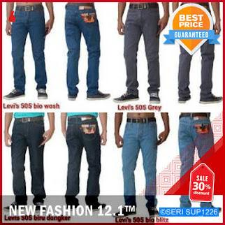 SUP1226C20 Celana Jeans Standar Pria Murah BMGShop