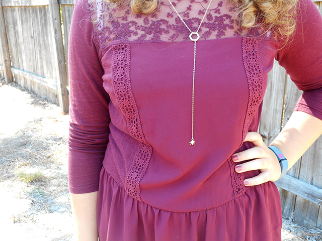 burgundy black nude outfit recreate remix grace and lace link up lauren conrad peplum top style fashion