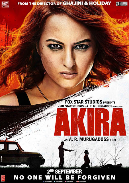 Akira, Movie Poster, starring Sonakshi Sinha, directed by A R Murugadoss
