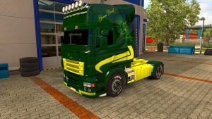 Green Devil skin for Scania RJL