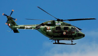 Indian Naval Helicopter ALH Dhruv Gets Foldable Rotors