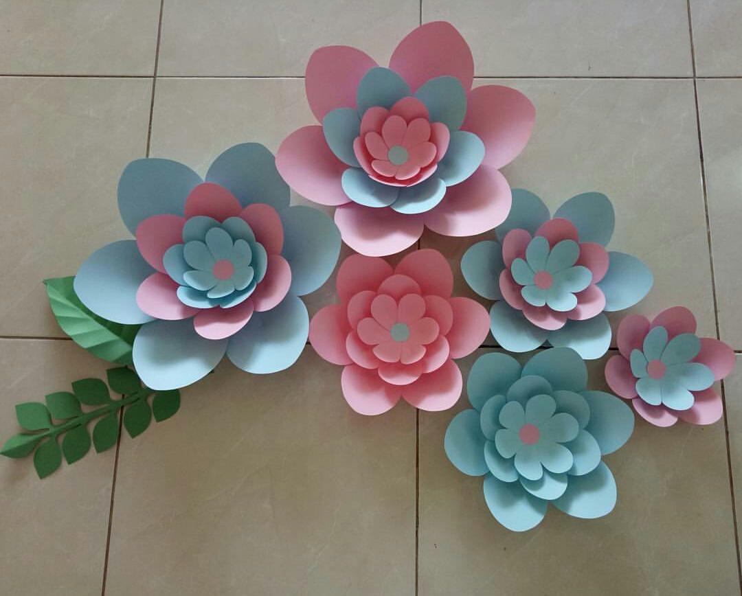 Penuh Semangat Ibu Ibu Pkk Di Padasuka Mengikuti Pelatihan Pembuatan Paper Flower Bersama Alfamart Rangkaian Cerita Cara membuat paper flower