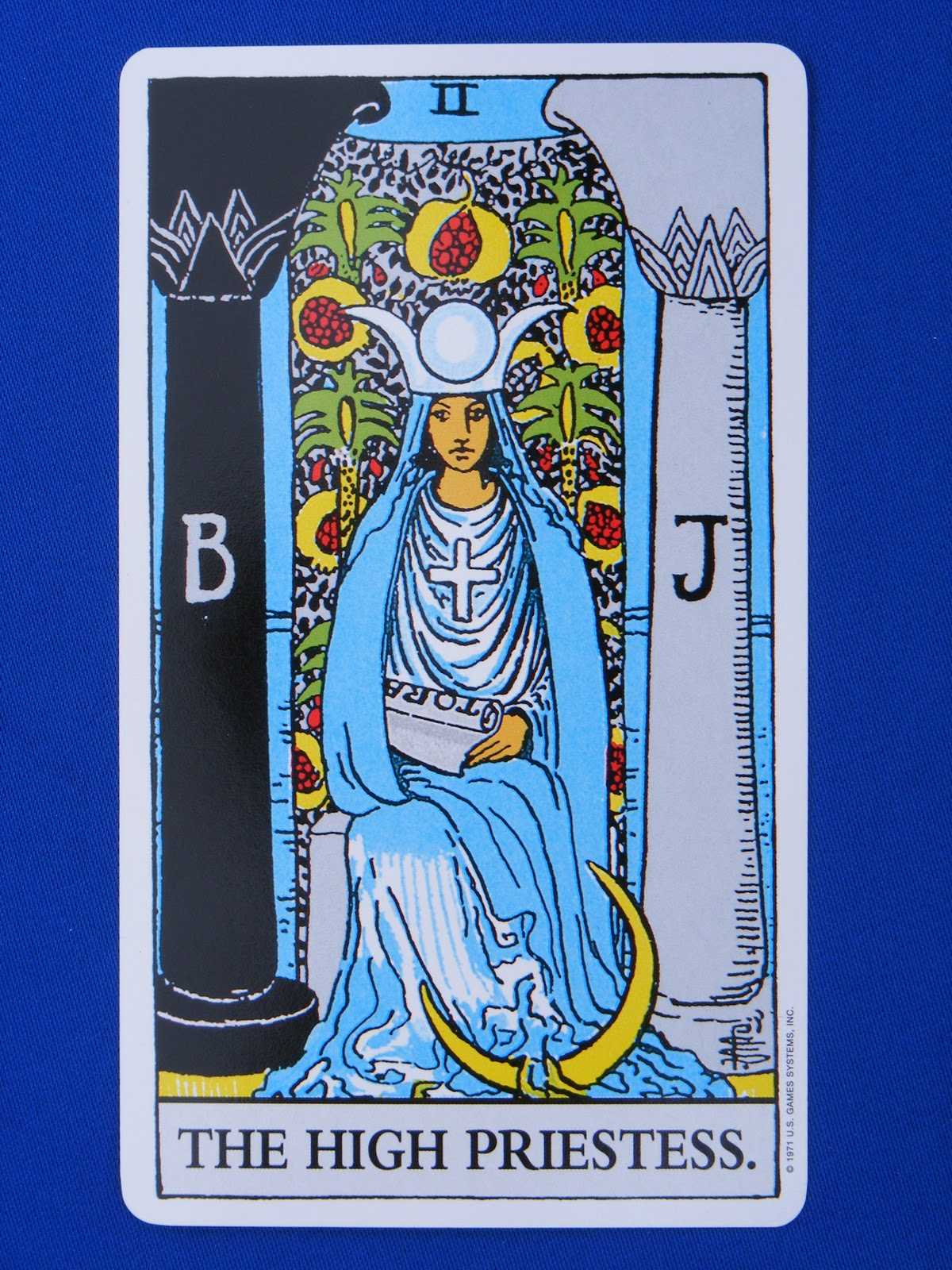High Priestess Full Colorful Deck Major Stock Illustration: Spritely Spirited: The High Priestess Of 2012
