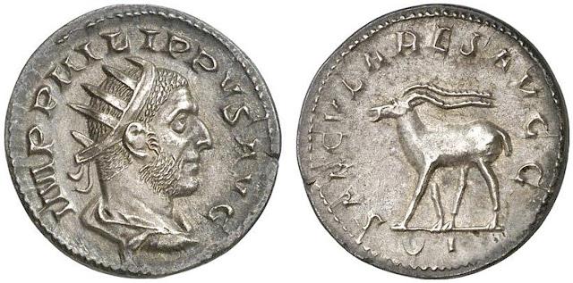 Antoniniano de Filiipo I