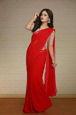 Actress Nanditha Swetha Saree Photos