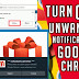 How to turn off unwanted/spam notifications in google chrome