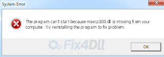 Msvcr110 dll Missing Windows 10 Inilah Solusi Yang Tepat