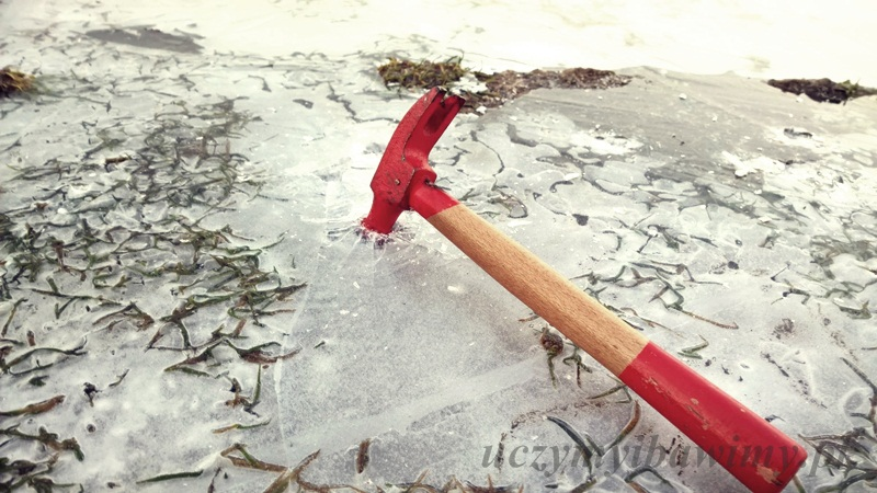 Zabawa plastyczna - zima