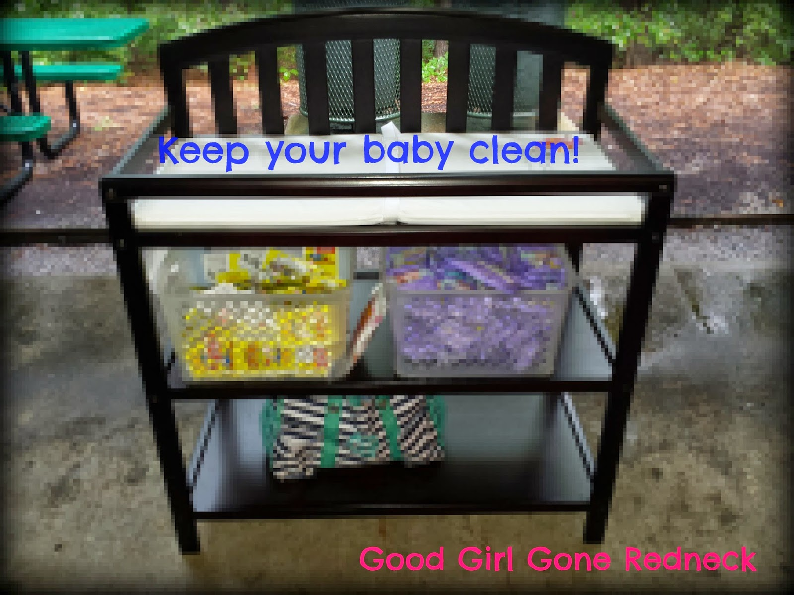 changing table, baby wipes, natural baby care