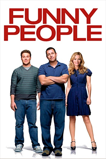 Funny People 2009 UNCUT Dual Audio Hindi 480p BluRay 450mb