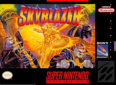 Rom de Sky Blazer - SNES - Em Português - Download