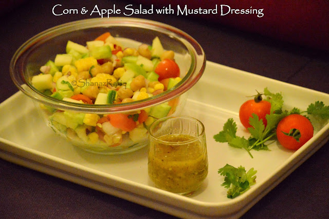 Corn & Apple Salad