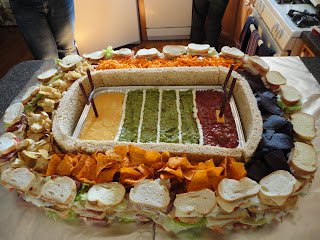 Super bowl party food - Ultimate Game Day Snack Football Stadium