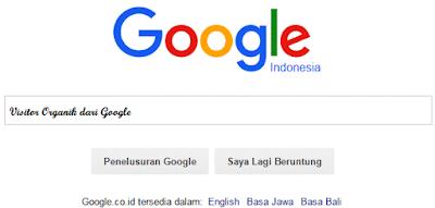 Rahasia Meningkatkan Visitor organik dari Google