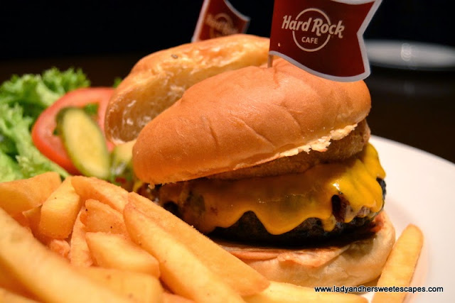Legendary Burget at Hard Rock Cafe