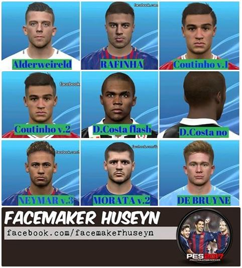 PES 2017 FHZ Facepack by Huseyn