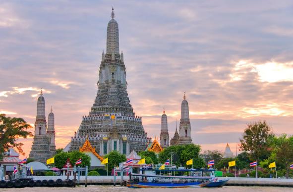 wisata thailand, wat arun thailand