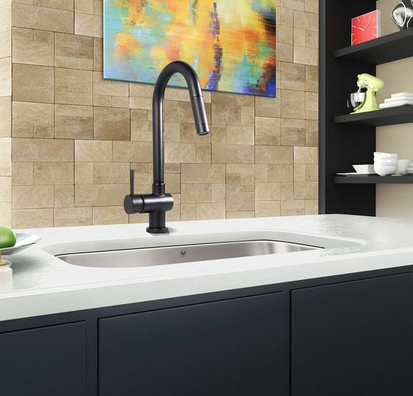 black kitchen faucets pull out spray ideas - kitchen remodel