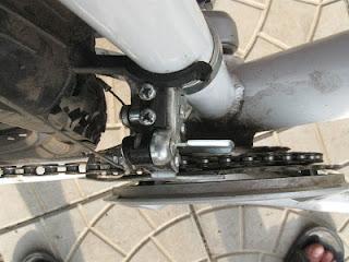передний переключатель скоростного велосипеда
