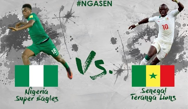 Senegal vs Nigeria Friendly update