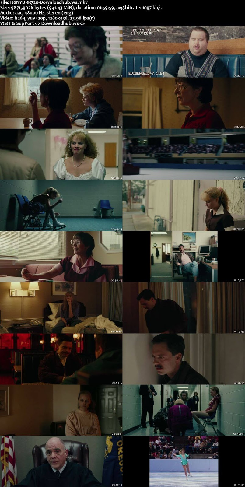 I, Tonya 2017 English 720p BRRip 950MB ESubs
