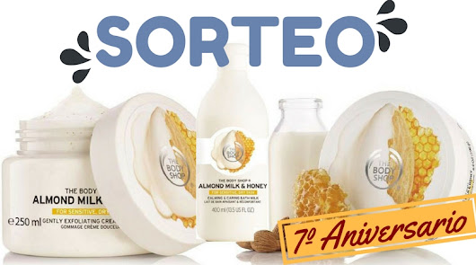 7º ANIVERSARIO | Sorteo de THE BODY SHOP