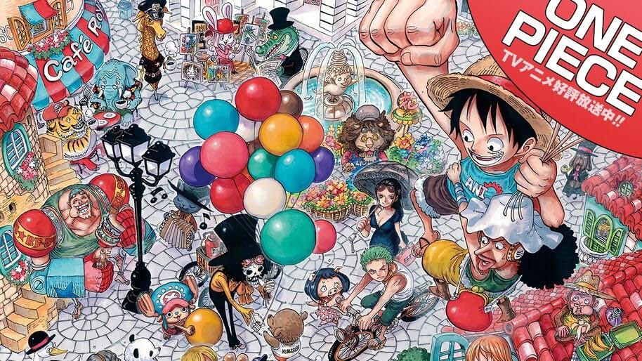 One Piece, Straw Hat Pirates, 4K, #6.175