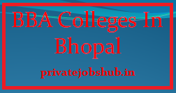 BBA Colleges In Bhopal