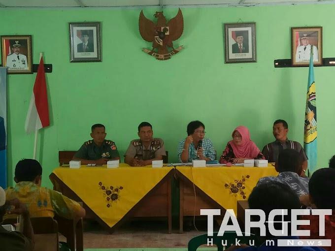 Jelang Pilkades Serentak, Muspika Kecamatan Gabus Sosialisasi Tatib Balon Kades Sungingwarno