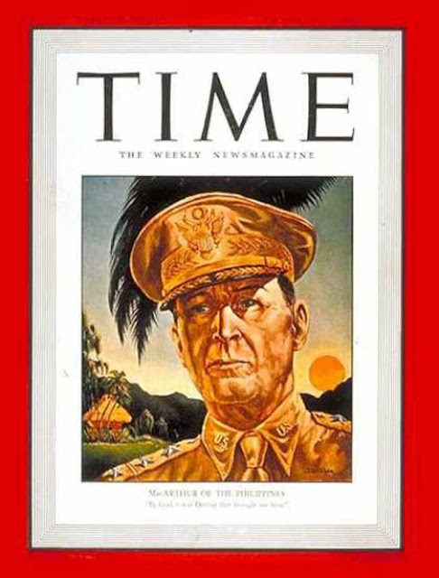 MacArthur on cover of Time magazine, 29 December 1941 worldwartwo.filminspector.com