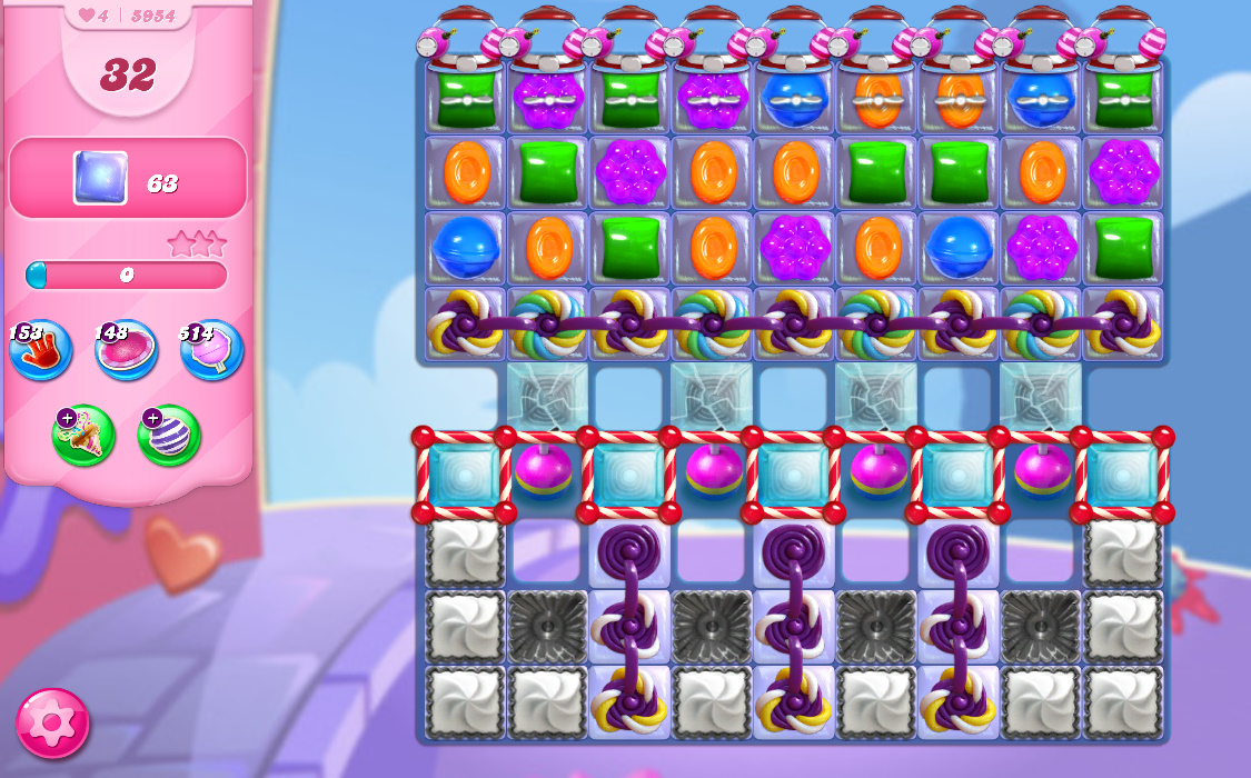 Candy Crush Saga level 5954