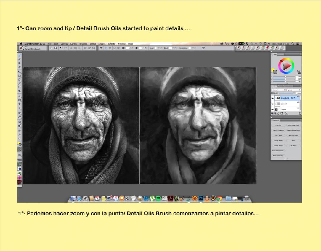 Corel Painter español: TUTORIALES PAINTER