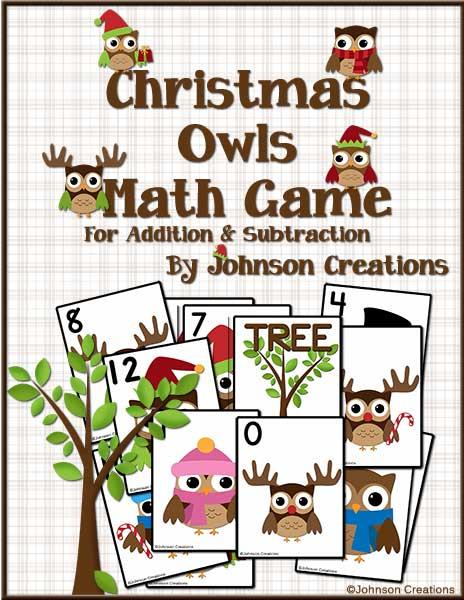 Coolmathgames Com Christmas Ornaments: Johnson Creations: Christmas Owls Math Game