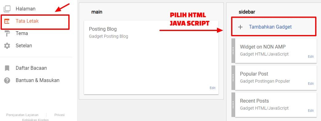 Memasang Widget Kotak Berlangganan Artikel (Subscriber Box) Terbaru