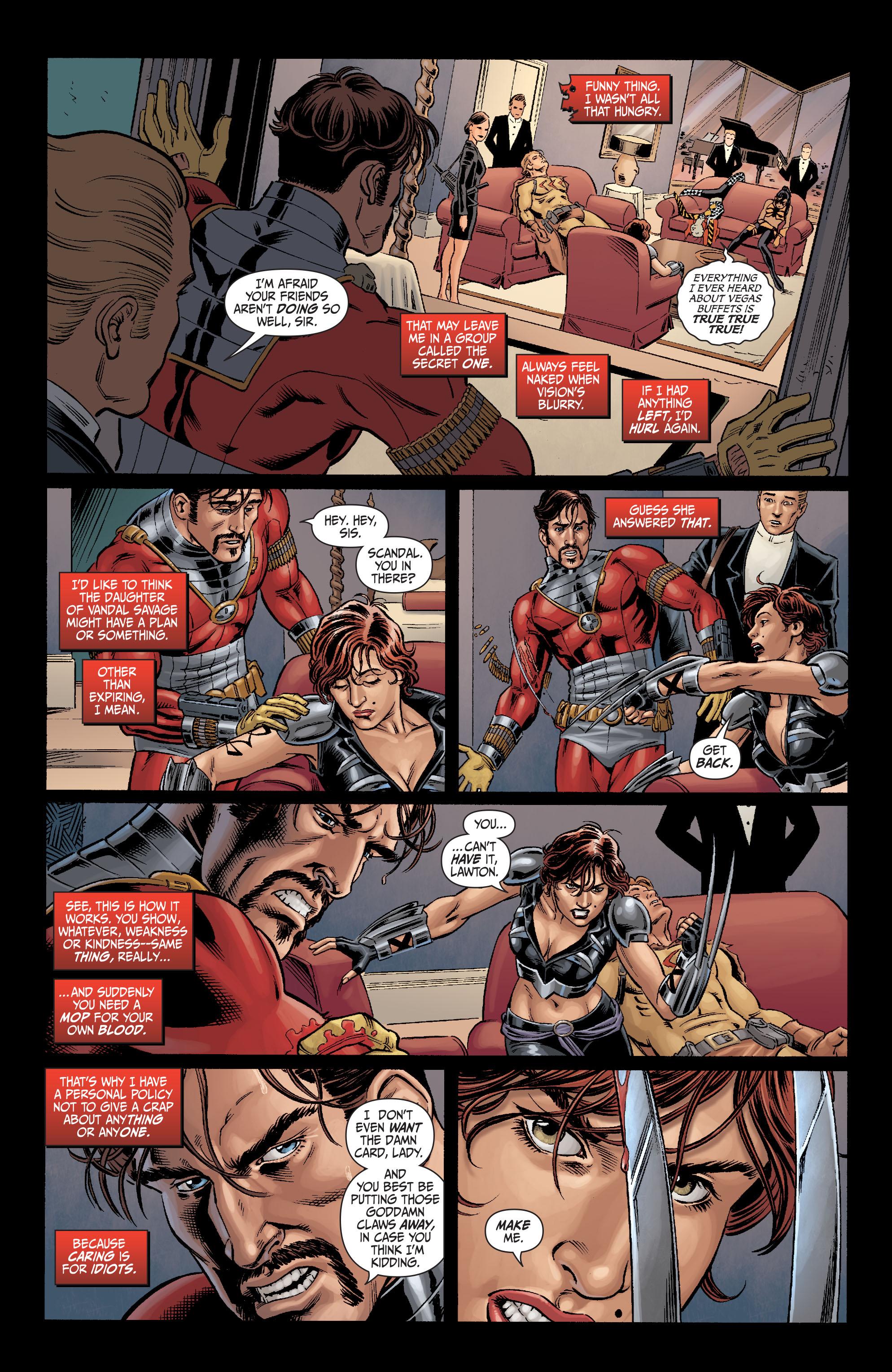 Read online Secret Six (2008) comic -  Issue #5 - 10