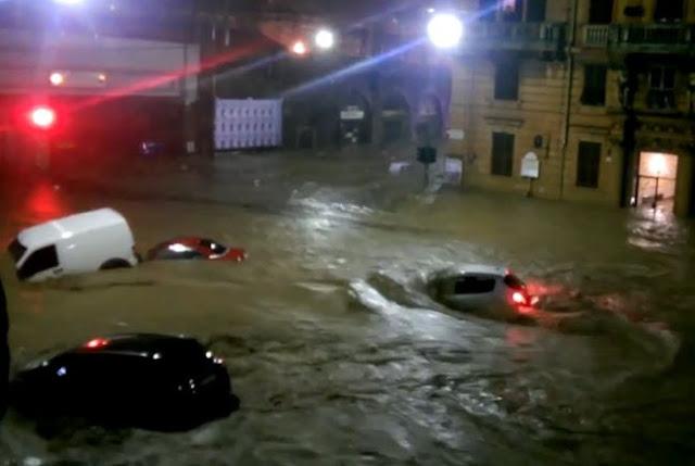 18 οι νεκροί στην Ιταλία από την σφοδρή κακοκαιρία