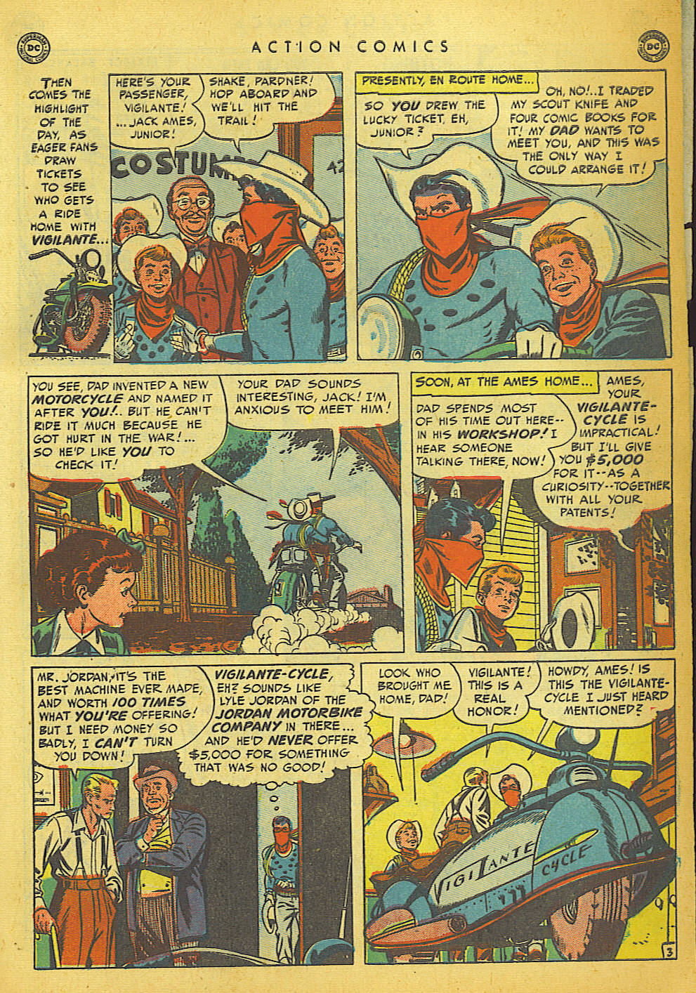 Read online Action Comics (1938) comic -  Issue #149 - 33