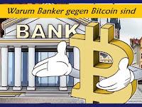 Warum Banker gegen Bitcoin sind