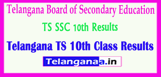 Telangana TS SSC 10th Class Results 2018