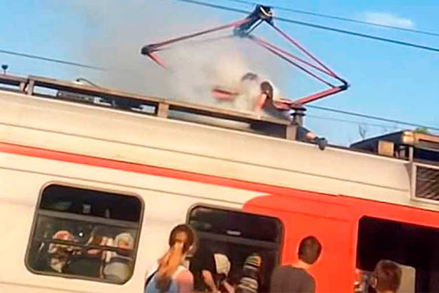 Зацепер погиб от удара током Софрино Москва