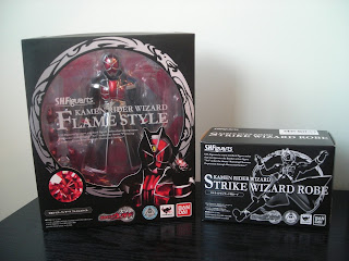 SH Figuarts Kamen Rider Wizard Flame Style Box Front